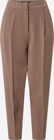 BRUUNS BAZAAR Bukser med lægfolder 'CindySus Dagny' i brun, Produktvisning