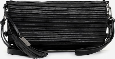 TAMARIS Clutch 'Carina' in de kleur Zwart, Productweergave
