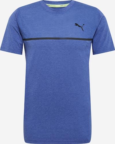 PUMA Koszulka funkcyjna w kolorze niebieski / czarnym, Podgląd produktu