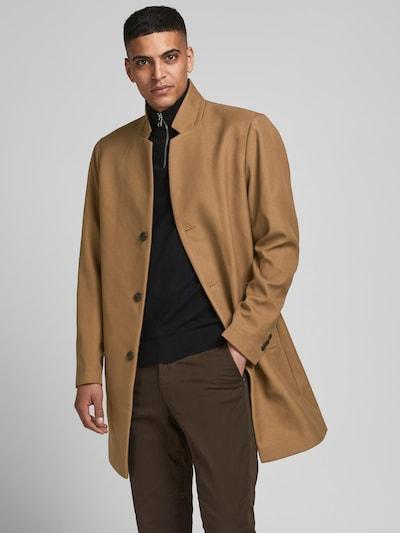 JACK & JONES Mantel in beige, Modelansicht