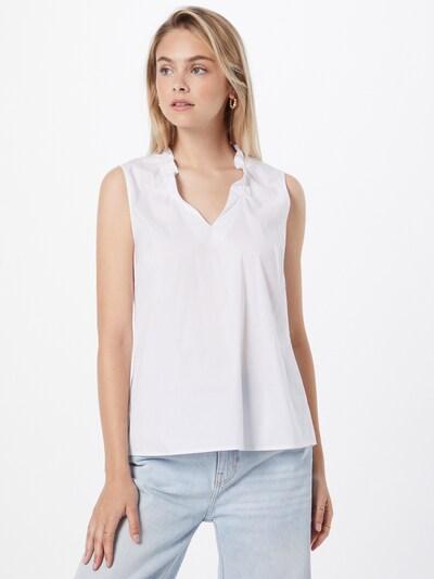 Bluză s.Oliver BLACK LABEL pe alb, Vizualizare model