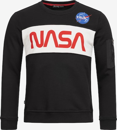 Redbridge Pullover McKinney NASA Print & Patches in schwarz, Produktansicht