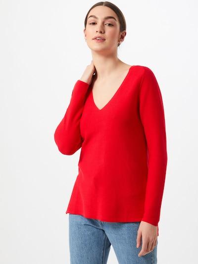 ESPRIT Pullover in karminrot, Modelansicht