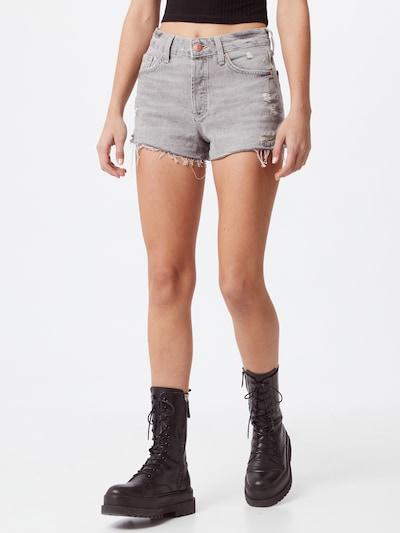 River Island Jeans 'HANNAH' in grey denim, Modelansicht