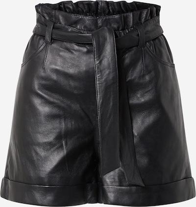 Pantaloni 'JENNY' OAKWOOD pe negru, Vizualizare produs