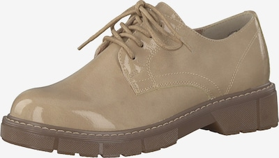 MARCO TOZZI Lace-up shoe in beige, Item view