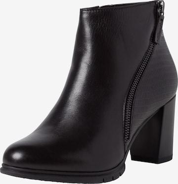 TAMARIS Ankle Boots in Schwarz