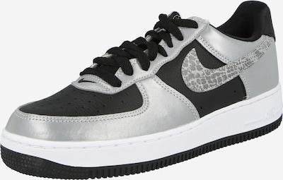 Nike Sportswear Nízke tenisky 'Air Force 1' - tmavošedá / čierna / strieborná, Produkt