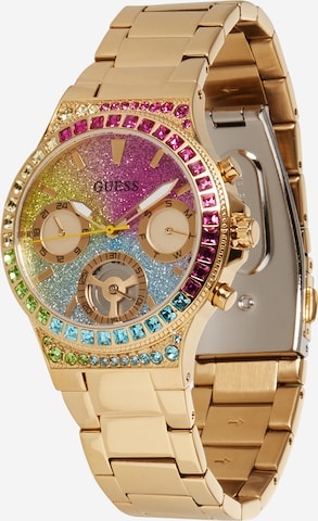 GUESS Analog Watch 'Sugarrush' in Gold