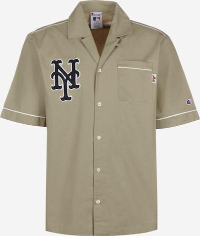 Champion Authentic Athletic Apparel Kurzarmhemd 'Sportswear' in khaki: Frontalansicht