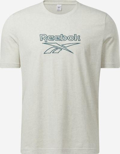 Reebok Classic T-Shirt in petrol / weißmeliert, Produktansicht