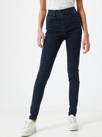 LEVI'S Jeans 'MILE HIGH Super Skinny' in Blauw