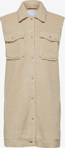 SELECTED FEMME Vest 'Jany' i beige