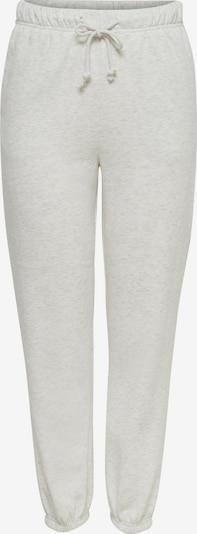 ONLY Pantalon 'Comfy' en gris clair, Vue avec produit