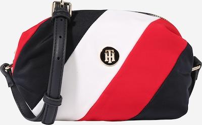 TOMMY HILFIGER Tasche 'Poppy' in dunkelblau / rot / weiß, Produktansicht