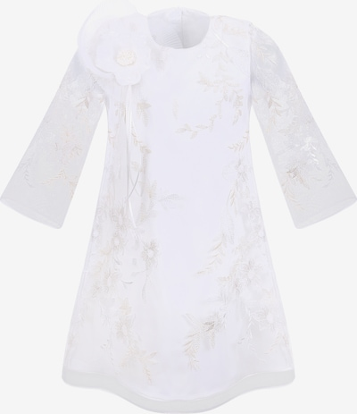 Gebriel Juno Kleid in silber / weiß, Produktansicht