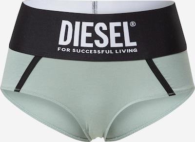 DIESEL Panty i pastelgrøn / sort / hvid, Produktvisning