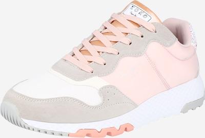 Pepe Jeans Sneaker 'EASY' in hellgrau / altrosa / weiß, Produktansicht