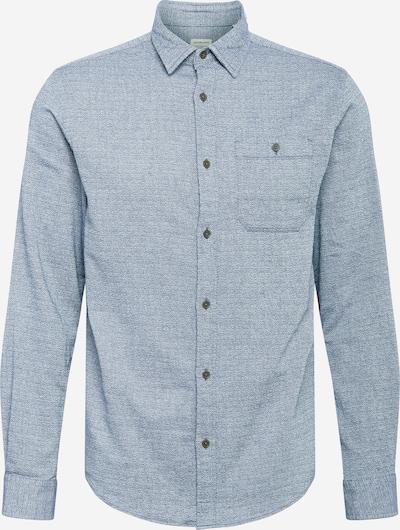 JACK & JONES Camisa 'BARRET' en azul paloma / blanco, Vista del producto