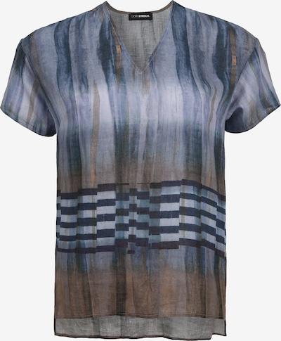 Doris Streich Leinenbluse mit Allover-Print in mischfarben, Produktansicht