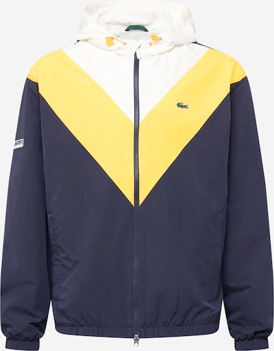 LACOSTE Tussenjas in de kleur Blauw / Geel / Wit, Productweergave