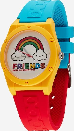 GUESS Uhr in blau / gelb / rot / weiß, Produktansicht