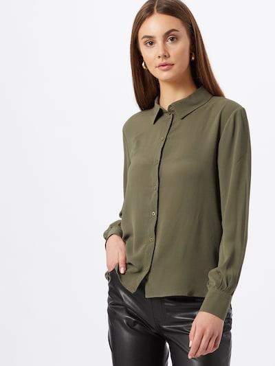 JACQUELINE de YONG Bluse 'Maddie' in khaki, Modelansicht