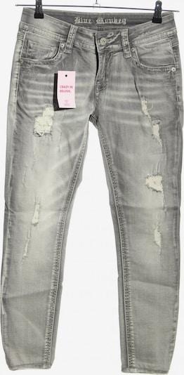 Blue Monkey Skinny Jeans in 27-28/32 in hellgrau, Produktansicht