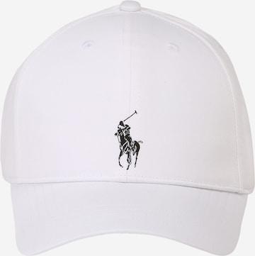 Polo Ralph Lauren Müts 'BASELINE', värv valge