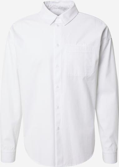 DAN FOX APPAREL Button Up Shirt 'Niklas' in White, Item view