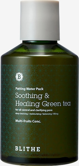 BLITHE Mask 'Soothing & Healing Green Tea' in Green, Item view