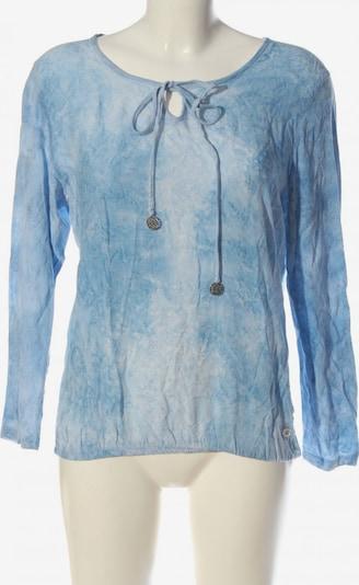 Lisa Tossa Langarm-Bluse in L in blau / weiß, Produktansicht