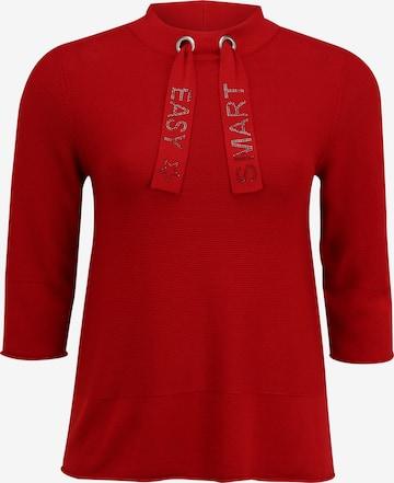 Doris Streich Pullover in Rot