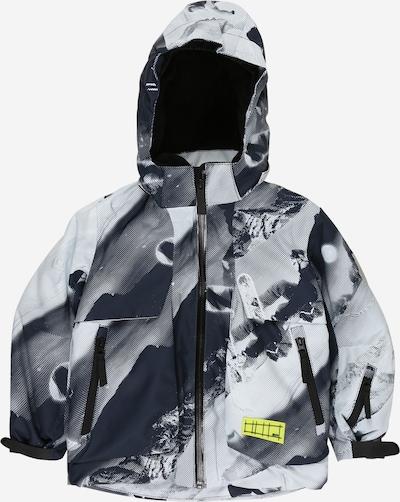 Molo Jacke 'Alpine' in anthrazit / graphit / hellgrau / weiß, Produktansicht