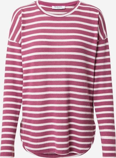 Sublevel Shirt in rosegold / weiß, Produktansicht