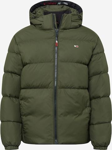 Tommy Jeans Winter jacket in Green
