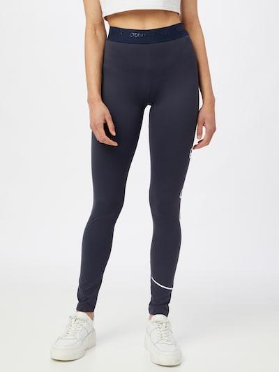 HUGO Leggings 'Nicago' in dunkelblau / weiß, Modelansicht