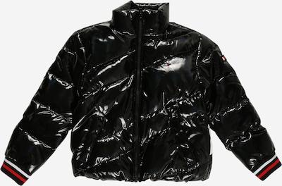 TOMMY HILFIGER Tussenjas in de kleur Rood / Zwart / Wit, Productweergave