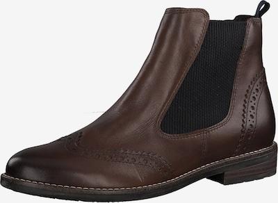 MARCO TOZZI Chelsea Boots en marron, Vue avec produit
