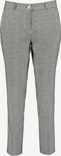Lavard Hose klassische und zeitlose Zigarettenhose in schwarz / weiß, Produktansicht