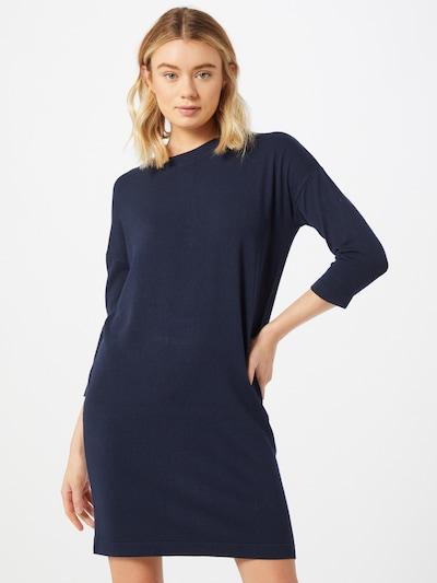 VERO MODA Strickkleid in dunkelblau, Modelansicht