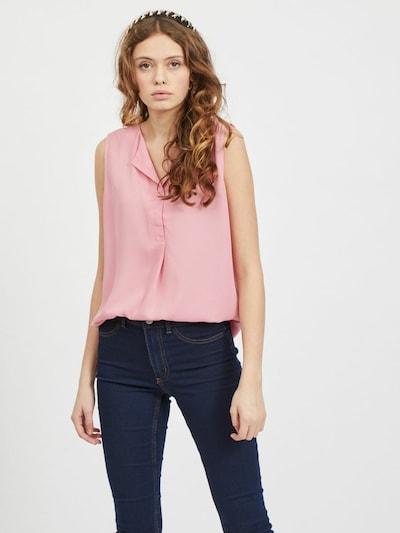 VILA Bluse en rose, Vue avec modèle