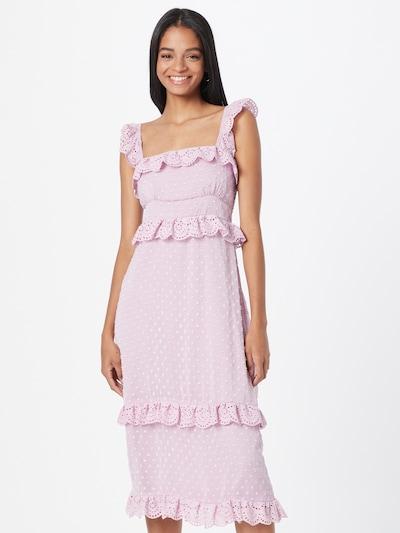 Suknelė iš Hope & Ivy, spalva – pastelinė violetinė: Vaizdas iš priekio