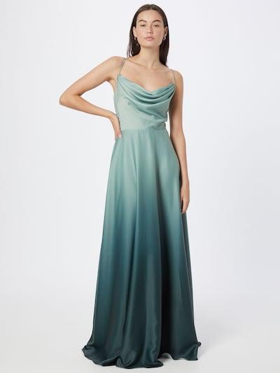VM Vera Mont Abendkleid in mint / dunkelgrün, Modelansicht