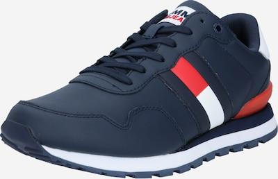 Tommy Jeans Sneakers laag 'Lea' in de kleur Navy / Rood / Wit, Productweergave