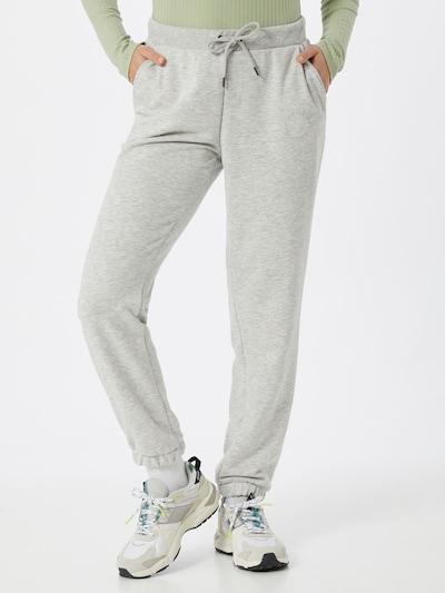 Noisy may Pantalón 'Lupa' en gris claro, Vista del modelo