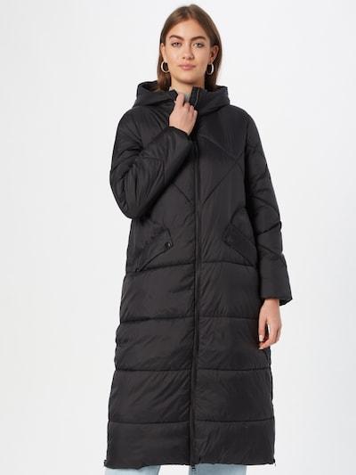 EDC BY ESPRIT Between-Seasons Coat in Black, View model