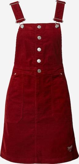 Tommy Jeans Jupe-salopette en rouge: Vue de face