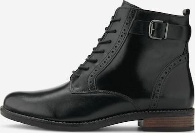 COX Schnürstiefeletten in schwarz, Produktansicht