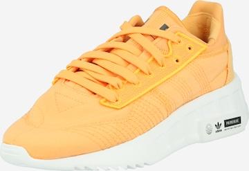 Baskets basses ADIDAS ORIGINALS en orange